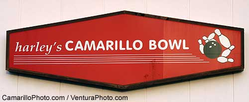 Camarillo Bowl Sign Photograph