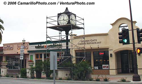Old Town Camarillo Clock
