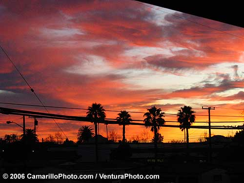 Sunset Camarillo Picture